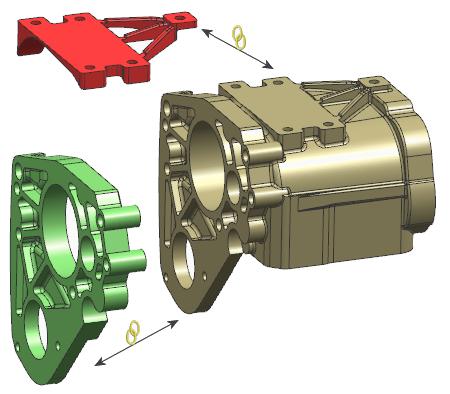 NX CAD - Definiowanie modułów części