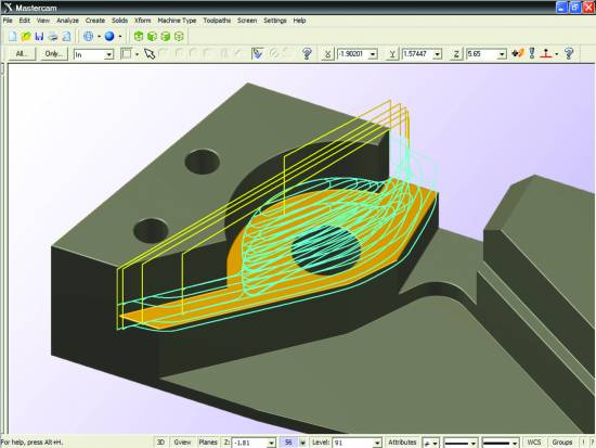 Mastercam's Design Tools Provide Flexibility and Ease of Use