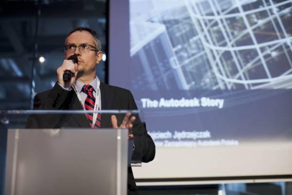Wojciech Jędrzejczak, dyrektor zarządzający Autodesk w Polsce