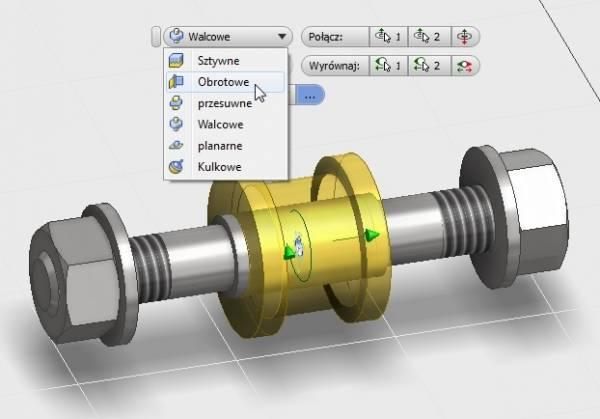 Autodesk Inventor 2015 - Wiązanie - Połączenie (5)