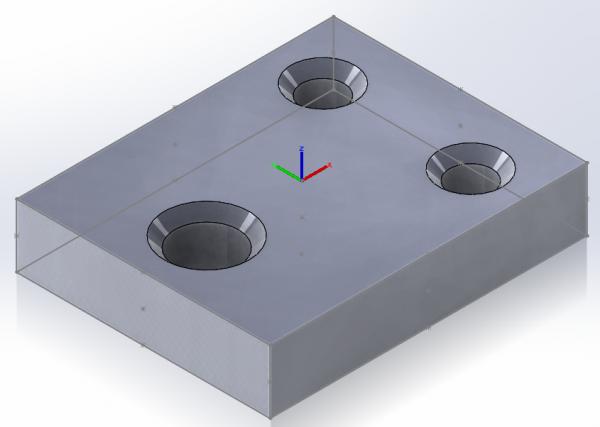 Środek Geometrii Modelu