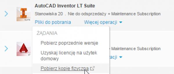 Zmiany w wysyłkach nośników dla subskrybentów Autodesk