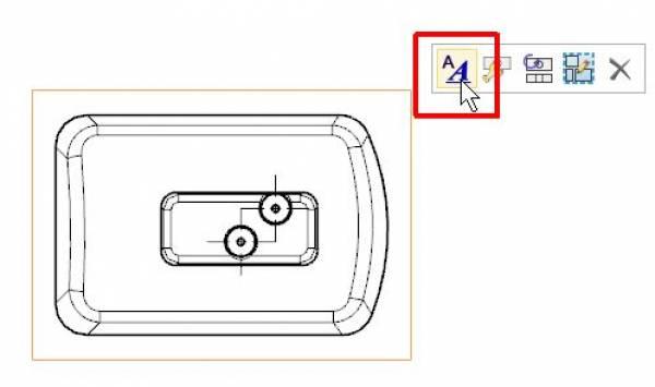 NX CAD rysunek 2D