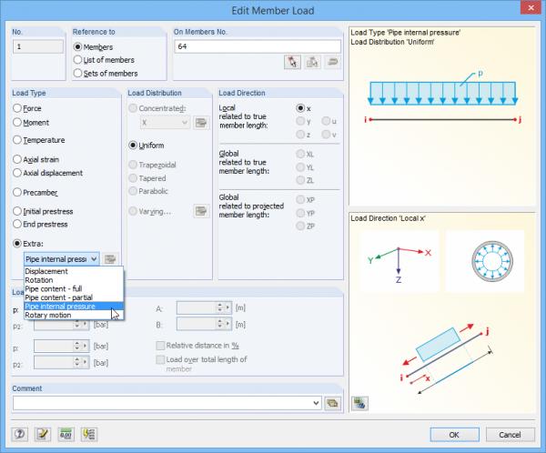 Moduł dodatkowy RF-PIPING do modelowania rurociągów