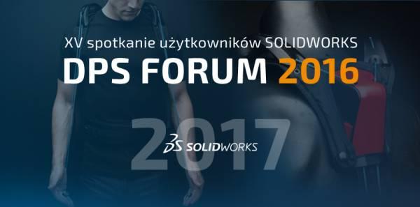 Konferencja SOLIDWORKS 2017 - DPS Forum 2016