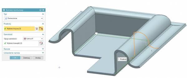 SHEET METAL w NX CAD
