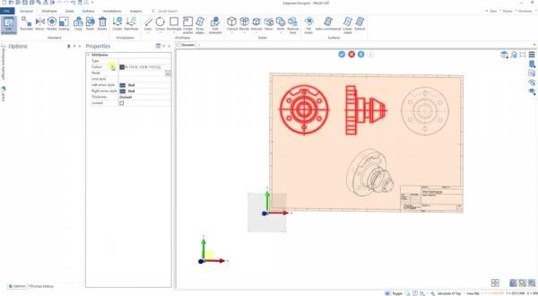 Edgecam Designer Tworzenie modelu z dokumentacji 2D