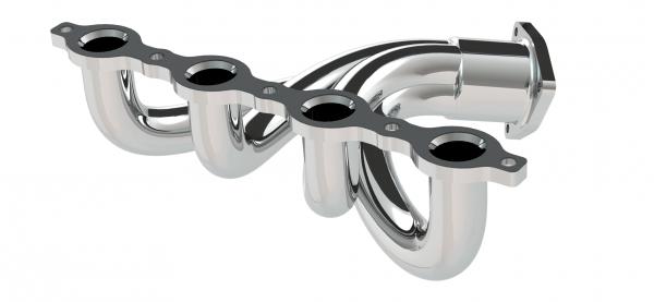 NX CAD -  Powiązana geometria uszczelki i kolektora