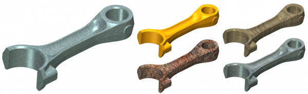 T-FLEX CAD 2D+ rendering