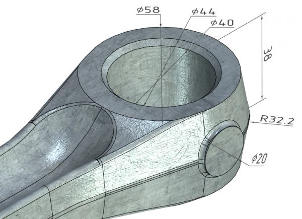 T-FLEX CAD 2D+ wymiary 3D