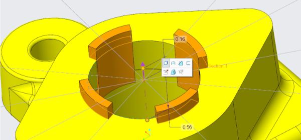 Creo 6.0 projektowanie cech