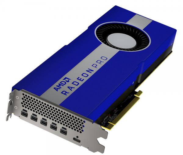 Radeon Pro W5700 - nowa grafika dla stacji roboczych