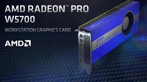 Radeon Pro W5700 - nowa grafika dla stacji roboczych w technologii 7 nm