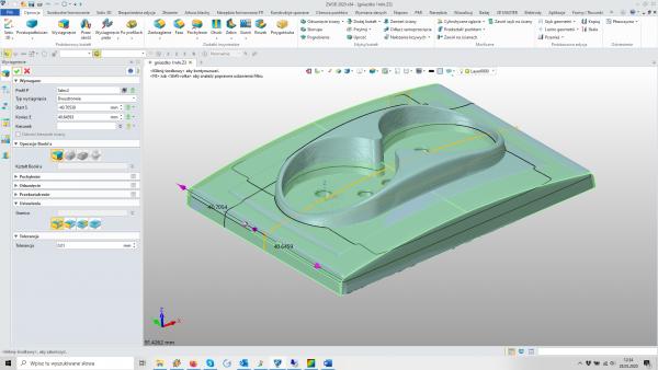 ZW3D - skanowanie 3d i projetkowanie form