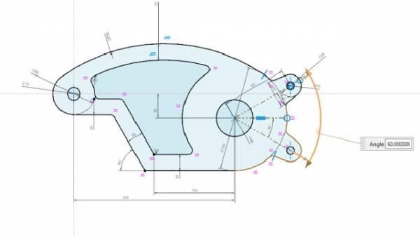 NX Sketch - inteligentny szkicownik CAD