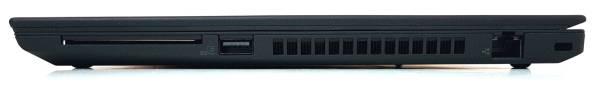 Stacja robocza Lenovo ThinkPad P43s - porty prawa strona