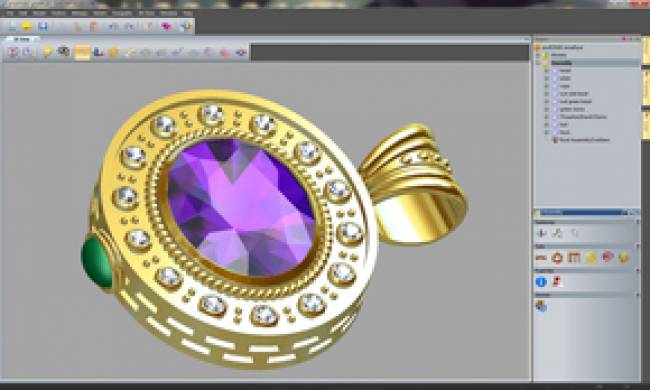 Delcam's ArtCAM JewelSmith offers integrated design and manufacturing for jewelers