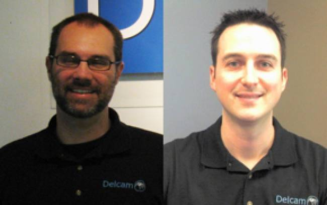 Jason Owen (left) and Craig Burney have been added to Delcam's North American support team
