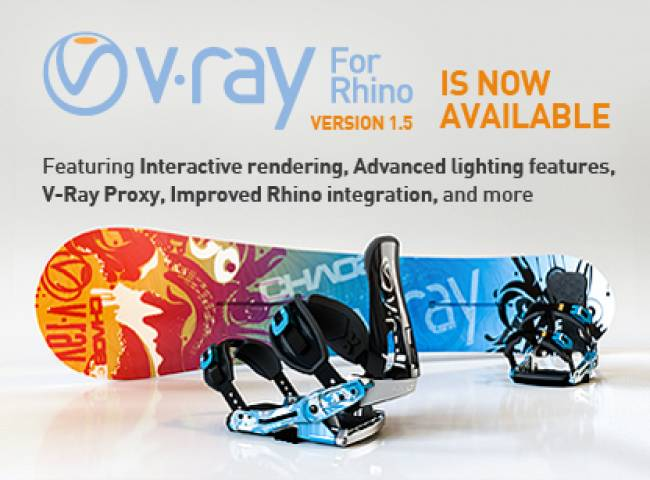 V-Ray 1.5 for Rhino