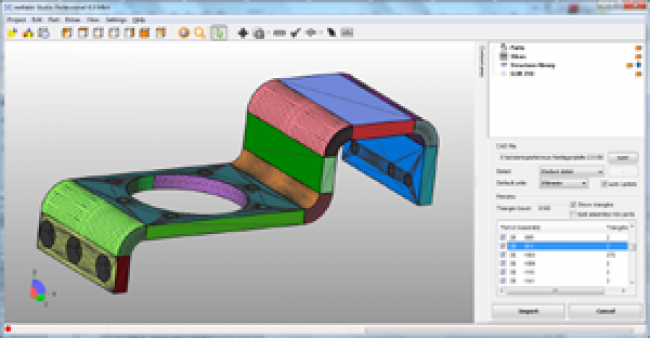 cad import - to stl