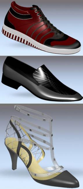 The winning designs produced by the students with Delcam CRISPIN software