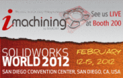 SolidCAM presents revolutionary iMachining in action and the World Premiere of SolidCAM 2012 at SolidWorks World 2012, Booth #200!